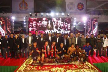 'อีซูซุ'ยินดีกับ'แสนสะท้าน พี.เค.แสนชัยมวยไทยยิม'  คว้าชัย'THAI FIGHT 2017'รอบแรกที่กรุงพนมเปญ