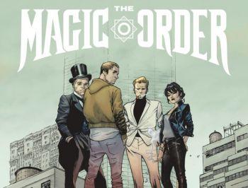 'เดอะเมจิก ออร์เดอร์' หนังสือการ์ตูนเล่มแรกสำหรับ Netflix