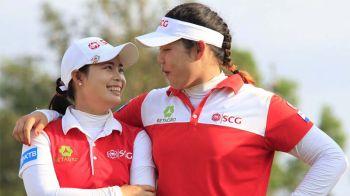14โปรสาวไทยได้แข่งขันLPGA  พี่น้องโมและเมจุฑานุกาลนำทีม