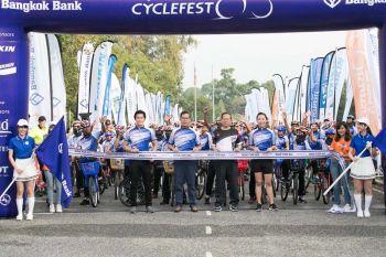 'มิตซูบิชิ'จับมือ'ธนาคารกรุงเทพ'  บริจาคจักรยานแก่เยาวชนในจ.ชลบุรี