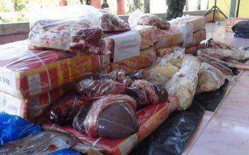 ปัตตานีแถลงจับขายเนื้อควายแช่แข็งเถื่อน เผยอิมพอร์ทจากอินเดีย