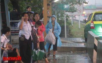 เผยหนองจอกฝนตกมากสุด ศรีนครินทร์อ่วมท่วมยาวกว่า300ม.