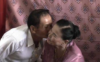 วิวาห์สูงวัย!ตาวัย70ปีหอบสินสอดแต่งยาย60ปี เผยปิ๊งรักกันงานบวช