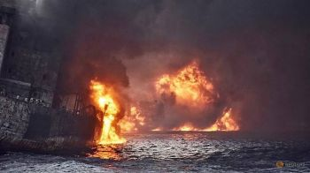 เรือน้ำมันอิหร่านอัปปางแล้ว หลังเพลิงโหมนาน8วัน-ไม่มีผู้รอดชีวิต
