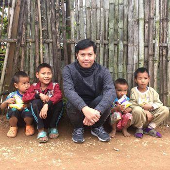 'หลานหนุ่ย'ขึ้นเหนือมอบความสุขให้เด็กชาวเขา