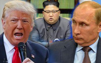 \'ทรัมป์\'ชี้\'รัสเซีย\'ช่วยเหลือ\'โสมแดง\' ขัดมติคว่ำบาตรยูเอ็น