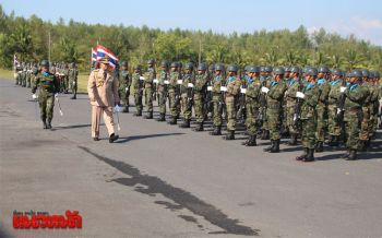 ผู้บัญชาการทัพเรือภาคที่3 นำกำลังพลโชว์ศักยภาพวันกองทัพไทย (ประมวลภาพ)