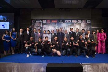 \'อีซูซุ\'ร่วมแถลงข่าวจัดศึกมวยไทยระดับโลก ใจกลางกรุงเทพมหานคร