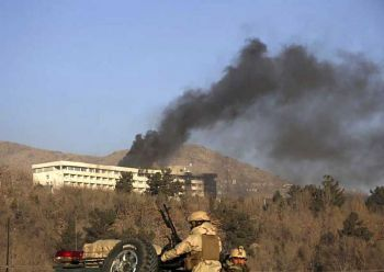 ยุติแล้วเหตุจับตัวประกัน  โรงแรมหรูกรุงคาบูลอัฟกานิสถาน