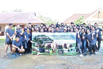 วิทยาลัยเทคโนโลยีจิตรลดาเด็กรุ่นใหม่หัวใจยึดมั่น  เปิดค่ายอนุรักษ์ช้างไทยสานต่อปณิธานในหลวงรัชกาลที่ 9