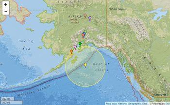 แผ่นดินไหว8.2เขย่า\'อะแลสกา\' \'แคลิฟอร์เนีย-วอชิงตัน\'เตือนภัย\'สึนามิ\'