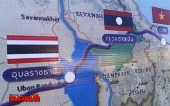 คมนาคมยันสร้างสะพานมิตรภาพไทย-ลาวแห่งที่6