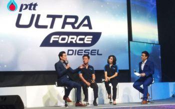 เครื่องยนต์เร่งแรงเต็มกำลัง! ปตท.เปิดตัวเทคโนโลยีน้ำมันสูตรใหม่ PTT UltraForce Diesel