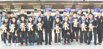 ทัพนักแบดไทยไปชิงแชมป์เอเชีย