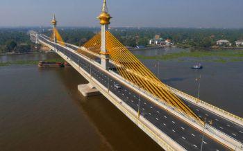 ปิดสะพานมหาเจษฎาบดินฯ10ก.พ.4ทุ่มถึงตี5 ทดสอบการรับน้ำหนักบรรทุก