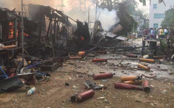 โรงงานพลุระเบิด บ้านพัง-ชาวบ้านเจ็บ