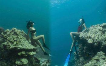 \'ปรับ-ตักเตือน\'! สาวหงายการ์ดรู้เท่าไม่ถึงการณ์ ปมลอบเข้า\'อ่าวแม่ยาย\'นั่งทับก้อนปะการัง