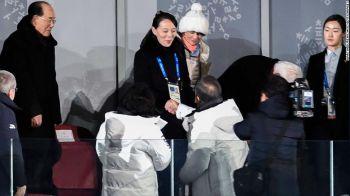ปธน.เกาหลีใต้จับมือน้องสาว\'คิมจองอึน\' ในพิธีเปิด\'โอลิมปิกฤดูหนาว\'