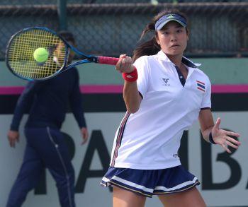 เทนนิสไทยพ่ายเกาหลีต้องชนะฮ่องกงส่งท้าย