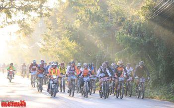 เชียงรายจัดงานแข่งขันจักรยานเสือภูเขานานาชาติ  นักกีฬาทั่วโลกเข้าร่วมกว่า100คัน