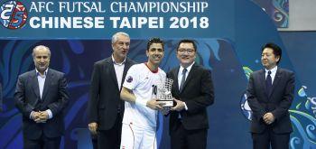 อิหร่านผงาดแชมป์ฟุตซอลเอเซียสมัย12