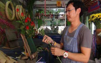 วาเลนไทน์เริ่มคึกหนุ่ม-สาวบ่อวินเริ่มสั่งจองดอกกุหลาบ