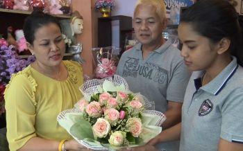 วาเลนไทน์ปีนี้ดอกกุหลาบที่สงขลาแพงช่อละ 500-3,000 บาท
