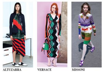 In trend : RESORT 2018 GRAPHIC SWEATER DRESSING