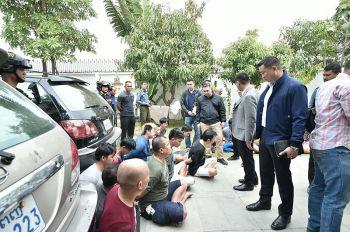 ตร.ท่องเที่ยวประสานเขมร บุกทลายแก๊งคอลเซ็นเตอร์ พบ26คนไทยร่วมขบวนการ