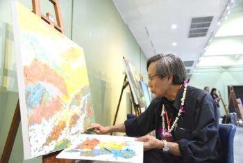 เปิดกระบวนการการสร้างสรรค์งานศิลปกรรม  ศิลปินนานาชาติ 61 คน จาก 26 ประเทศ ร่วมกับศิลปินแห่งชาติ