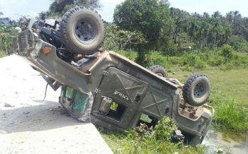 โจรใต้ลอบบึ้มรถหุ้มเกราะ  ทหารช่างบาดเจ็บ4นาย  ขณะออกแจกเสบียงกำลังพล