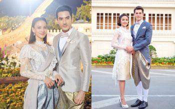 ดารา-นักร้อง พร้อมใจสวมชุดไทย  ร่วมงาน 'อุ่นไอรัก...คลายความหนาว'