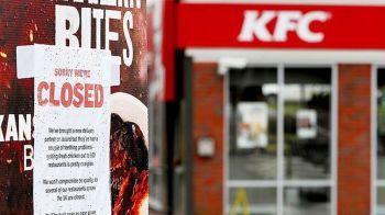 KFCอังกฤษปิดสาขากว่า700แห่ง หลังขาดแคลนไก่สด