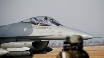 ฉาวอีก! F-16สหรัฐไฟลุกเครื่องยนต์ นักบินรีบทิ้งถังเชื้อเพลิงลงทะเลสาบ\'ญี่ปุ่น\'