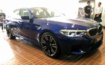 เผยโฉม\'BMW M5\'ใหม่ล่าสุด!ดีไซน์สปอร์ตหรู-ขุมพลัง600แรงม้า