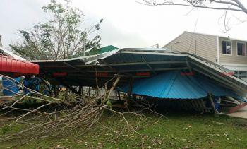 พิษณุโลกอ่วม! พายุพัดบ้านพังเสียหายกว่าร้อยหลังคาเรือน
