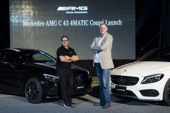 'เมอร์เซเดส-เบนซ์'จัดหนัก!!!  เปิดตัว'AMG C 43 4MATIC Coupe'  รุ่นประกอบในประเทศเป็นครั้งแรกในไทย