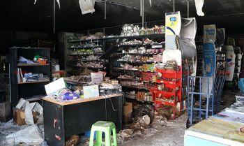 EODพบจุดคนร้ายซุกระเบิดเผาห้างนราธิวาส