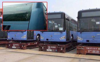 มือมืดโผล่ทุบ'รถเมล์NGV'พัง การท่าเรือฯยันพร้อมชดใช้