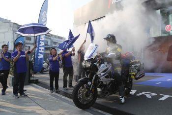 ยามาฮ่า สนับสนุนคนไทยคนแรก  เดินทางรอบโลก ด้วย Yamaha Super Tenere