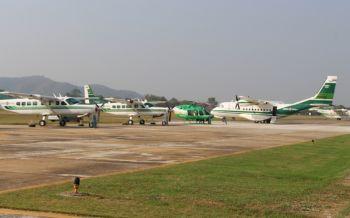 กรมฝนหลวง-การบินเกษตรเปิดปฎิบัติการฝนหลวงสู้ภัยแล้ง2561
