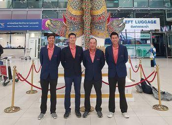 สวิงทีมชาติไทย เหิรฟ้าร่วมศึกกอล์ฟสมัครเล่น