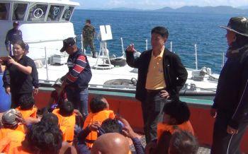 พังงาตรวจสภาพการจ้างแรงงานเรือประมงทะเล