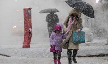 พายุฤดูหนาวลูกที่2ถล่ม\'สหรัฐ\' กระทบสัญจร-ยกเลิก2,500เที่ยวบิน