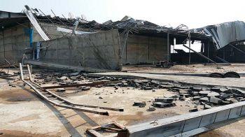 พายุซัดกำแพงเพชร  4หมู่บ้านพังเสียหาย  ศรีสะเกษส่อแล้งจัด