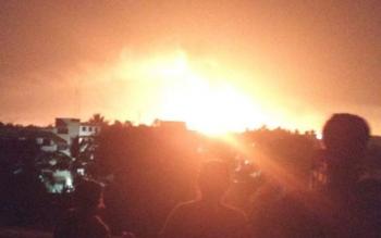 ไฟไหม้โรงงานเคมี\'อินเดีย\' เพลิงผลาญรง.6แห่ง-ตาย3รายเจ็บ15คน