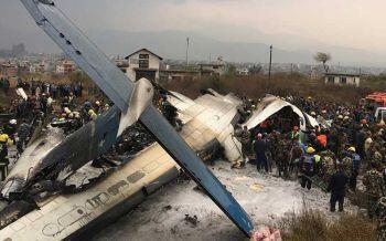 ด่วน! เครื่องบินบังกลาเทศเสียหลักในกาฐมาณฑุ ผู้โดยสาร-ลูกเรือ71ชีวิตเจ็บตายเพียบ
