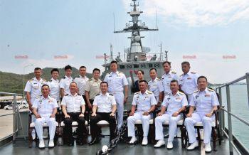 ผบ.ทร.สิงค์โปร์เข้าเยือนประเทศไทยกระชับความสัมพันธ์กองทัพเรือไทย