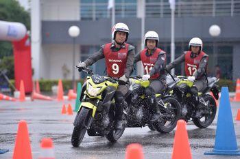 ฮอนด้า จัดกิจกรรมการแข่งขันขับขี่ปลอดภัย