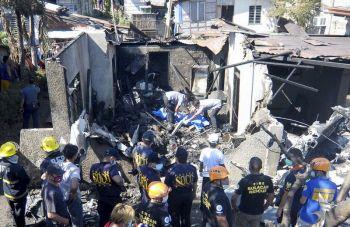 สลด! เครื่องบินเล็กตกใส่บ้านประชาชนในฟิลิปปินส์ เสียชีวิตเกลื่อน10ศพ